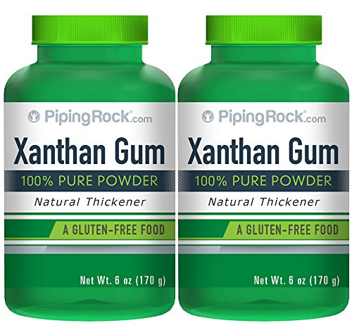 Premium Xanthan Gum Powder 2 Bottles x 6 oz (170 g)