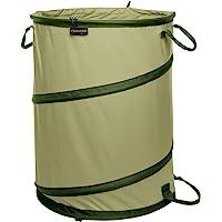 Fiskars 394050-1004 Kangaroo Collapsible Container Gardening Bag, 30 Gallon Capacity, Green