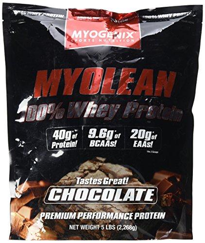 Myolean 100% Whey Protein Powder, Chocolate, 5 - Myofusion Chocolate