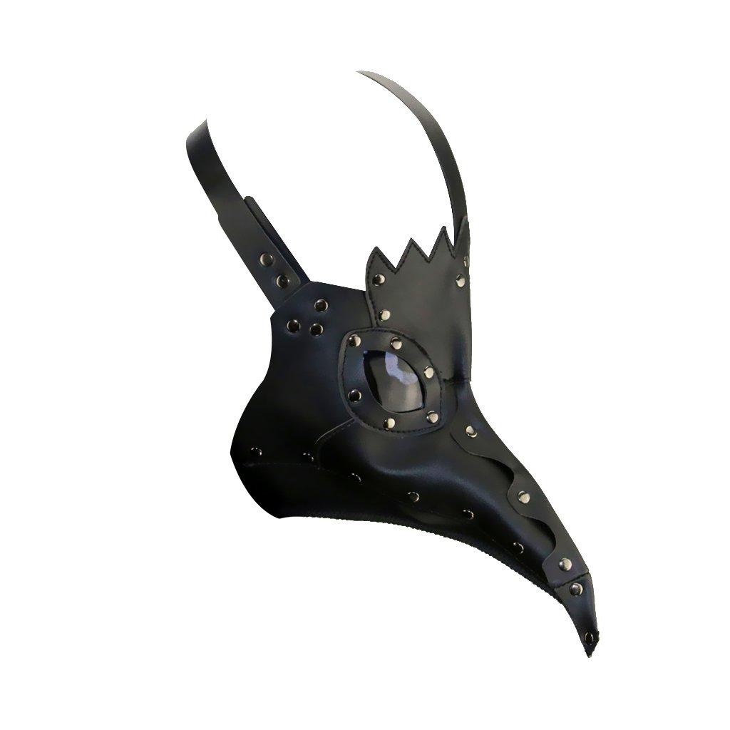 MagiDeal Máscara Steampunk Cosplay Médico de Peste Negra Disfraces Accesorios Adorno para Halloween Víspera de Todos los Santos - Negro: Amazon.es: Juguetes ...