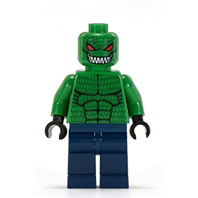 LEGO ORIGINAL RETIRED 2006 KILLER CROC Batman Minifig Minifigure Figure from Set 7780 The Batboat: Hunt for Killer Croc: Toys & Games