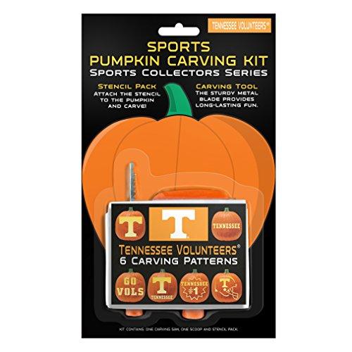 NCAA Tennessee Volunteers Pumpkin Carving Kit (College Football Costumes Halloween)