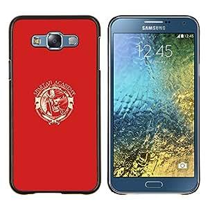 Stuss Case / Funda Carcasa protectora - Spartan Academia - Samsung Galaxy E7 E700