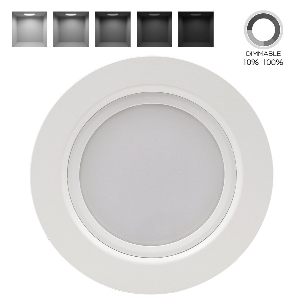 Dimmable Recessed Downlight Equivalent Daylight Image 2