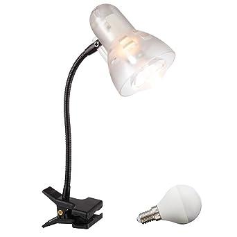 LED 3 Watt abrazadera proyector lámpara de mesa brazo flexo metal ...