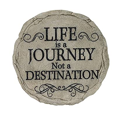 Spoontiques Life is A Journey Stepping Stone