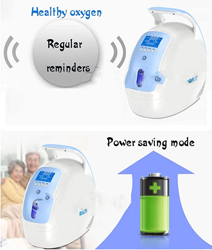 SLIMMING Máquina generadora concentradora de oxígeno portátil ...