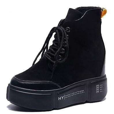Womens thick high heel sneakers high tops womens sneaker