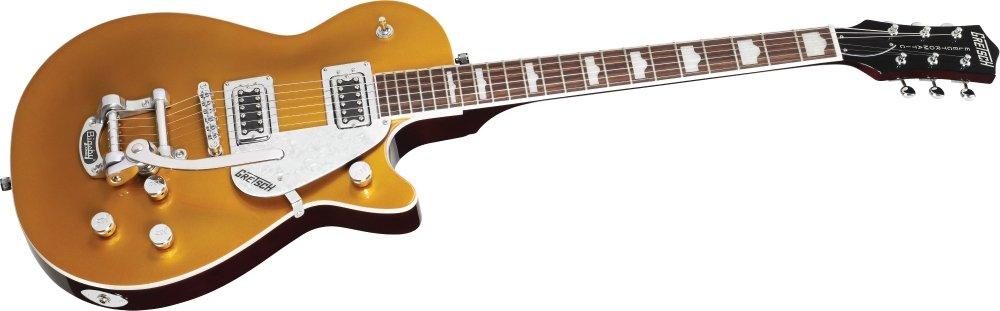 Gretsch g5435t Pro Jet - Guitarra eléctrica con palanca, color dorado: Amazon.es: Instrumentos musicales