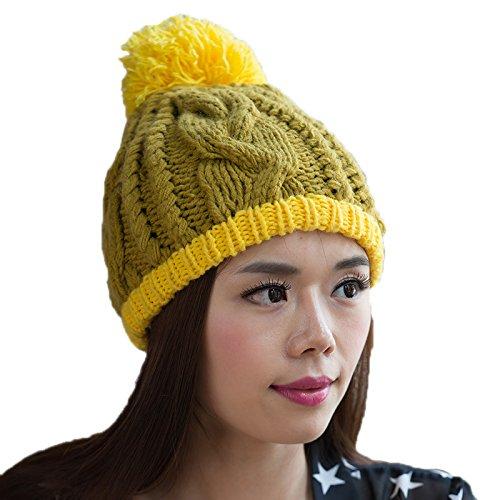 a Lana Invierno Coreano 5 Sombrero 5 Punto de señoras del Moda Coreana Bromista Las de Punto de Sombrero Sombrero Maozi qHYPyc4EE