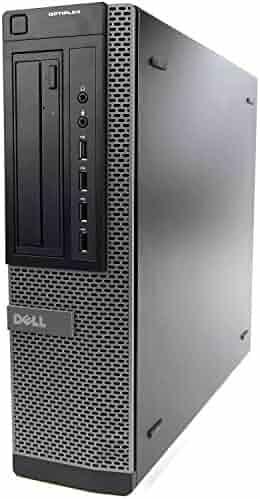 Dell Optiplex 7010 Business Desktop Computer (Intel Quad Core i5-3470 3.2GHz, 16GB RAM, 2TB HDD, USB 3.0, DVDRW, Windows 10 Professional) (Certified Refurbished)