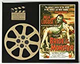 #1: THE BRIDE OF THE MONSTER BELA LUGOSI ED WOOD LIMITED EDITION MOVIE REEL DISPLAY