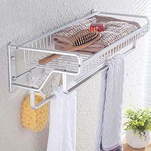TKFR Perchero de baño montado en la Pared Perchero - Rack de ...