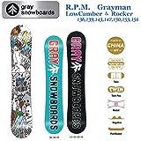 15-16 GRAY グレイスノーボード R.P.M Grayman