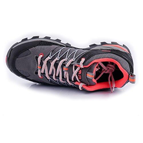 Outdoor da Donne Disponibili Molti Speciale di Trekking su Il black per red Colori Scarpi Pignolo l'esterno Ragel Grey CMP Modello Antiscivolo Le Impermeabile Bagagliaio per in e q65nCw
