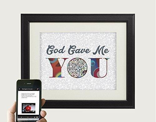Amazoncom God Gave Me You By Blake Shelton Inspired Song Art