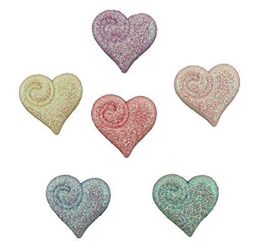 Shimmering Heart (BUTTONS GALORE BUTTON THEME PACK - SHIMMERING HEARTS)