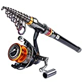 packable fishing rod - Goture Fishing Rod and Reel Combo Set 8.86FT 9.84FT 11.81FT Telescopic Fishing Rod Spinning Reel GT 4000 For Freshwater Saltwater