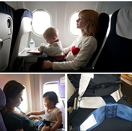 E24 Certificated 59'' Automotive Airplane Safety Seat Belt Extender for Child Babies Adjustable by Feiteplus (Image #1)