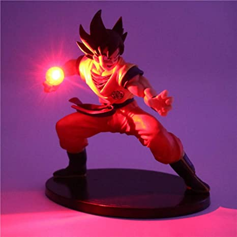 Dragon Ball Z Son Goku Figuras de acción Lámpara Led Modelo ...