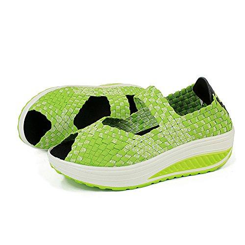Las Green3 Zapatillas Mujeres de Transpirables de de Casuales Las Zapatillas Deporte Ligeras Deporte de q8wOz
