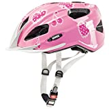 Uvex Quatro Junior Bicycle Helmet (Cherry Rose) for Age 3-10 (50-55) For Sale