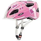 Cheap Uvex Quatro Junior Bicycle Helmet (Cherry Rose) for Age 3-10 (50-55)