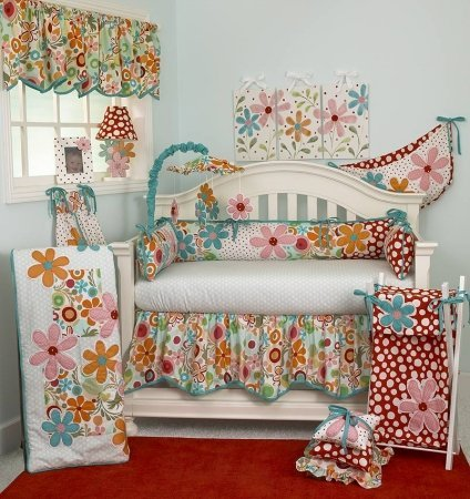 Cotton Tale Designs 8 Piece Bedding Set, Lizzie ()