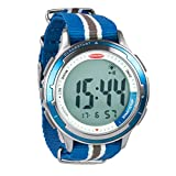"Ronstan Clear Start&153; Sailing Watch - 50mm(2"") - Stainless Steel w/Blue Canvas Band (54964)"
