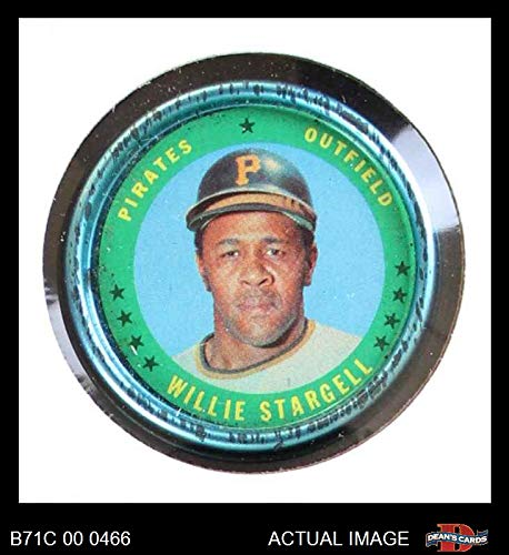 1971 Topps Coins # 123 Willie Stargell Pittsburgh Pirates (Baseball Card) Dean's Cards 4 - VG/EX Pirates