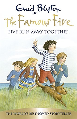 Reading mile authors enid blyton famous five novels 03 five run away together fandeluxe Choice Image