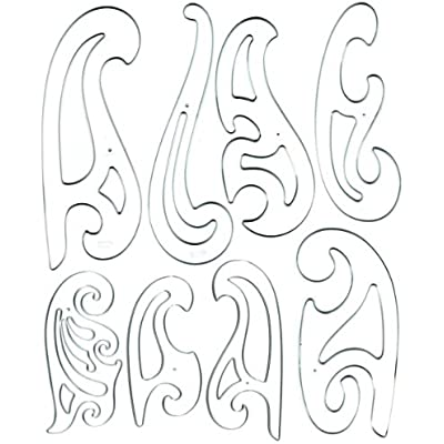 westcott-french-curve-template-set