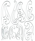 Office Products : Westcott French Curve Template Set of 8