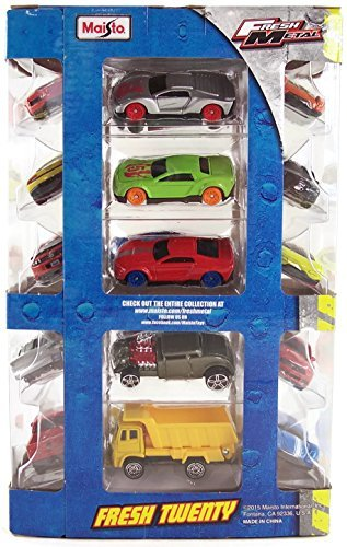 Maisto Fresh Metal Twenty 20 Pack Collectible Set of Cars by Maisto