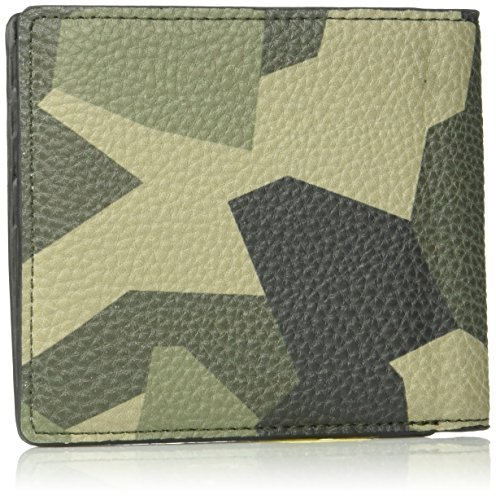 Bifold Camouflage Wallet Camouflage Men's Armani Men's Exchange Armani Bifold Verde Exchange 7P8wdOq