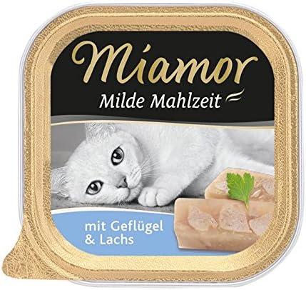 Miamor Schale Milde Mahlzeit Geflügel & Lachs 100 g (Menge: 16 je Bestelleinheit)