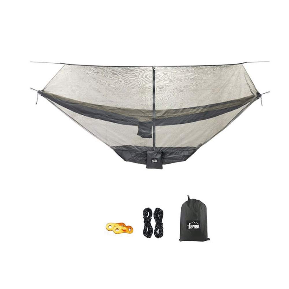 Camping Hammock, Outdoor Camping Swing Portable Mosquito Hammock, for Hiking Hammock, Camping Hammock with Mosquito Net, Fishing, Travel 300 140 cm by SXHHH