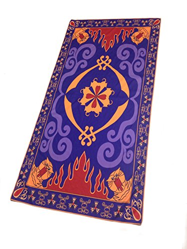 Tassels Included Magic Carpet Towel Inspired by Aladdin