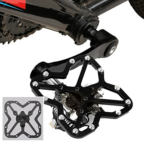 Bike Cleats for Shimano Cycling Shoes Compatible with SPD SH51 Mountain Bike Cleats Bicycle MTB Cleats 9 Degree Float
