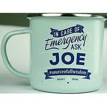 Top Guy Mugs 1208000103 Top Guys Joe Coffee Mugs, Large, Multicolor