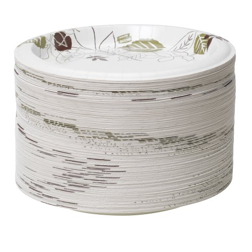 """Dixie Ultra 8.5""""Heavy-Weight Paper Plates by GP PRO (Georgia-Pacific), Pathways, SXP9PATH, 500 Count (125 Plates Per Pack, 4 Packs Per Case)"""