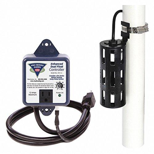 Float Switch, 115VAC, Plug, 12A, 10 ft.