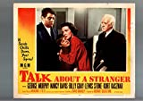 MOVIE POSTER: TALK ABOUT A STRANGER-LOBBY