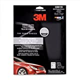 3M 03010 9'' x 11'' Emery Cloth Sheet with Assorted Grit Sizes (Pack of 4)