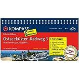 Ostseeküsten-Radweg 3, Von Flensburg nach Lübeck: Fahrradführer mit Routenkarten im optimalen Maßstab. (KOMPASS-Fahrradführer, Band 6003)