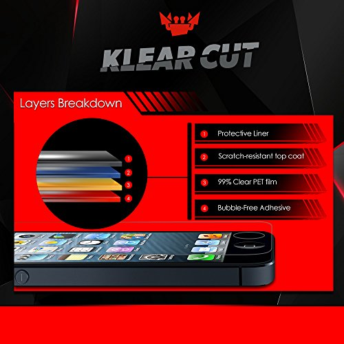 Klear-Cut-3-Pack–Screen-Protector-for-Apple-MacBook-Air-133-MJVE2LLA-Lifetime-Replacement-Warranty-Anti-Bubble-Anti-Fingerprint-High-Definition-HD-Clear-Premium-PET-Cover