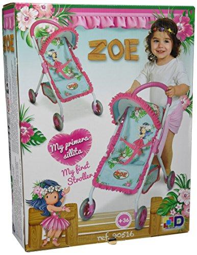 Amazon.es: Decuevas Toys - Muñeca Zoe, Silla con 4 Ruedas, 32x49x56 cm: Juguetes y juegos