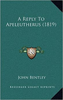 A Reply to Apeleutherus (1819)