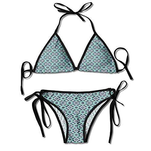 Belted Hipster Bikini - kjhep lk Women's Buckle Up Belted Hipster Bikini Bottom Personality Swimwear Bikini Set