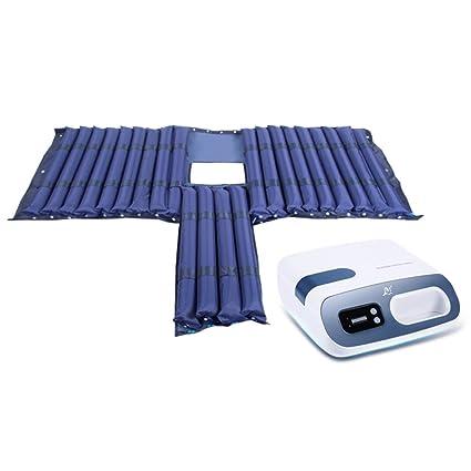Lxn Colchón anti-decúbito inflable del PVC para el hogar médico, incluye la pompa